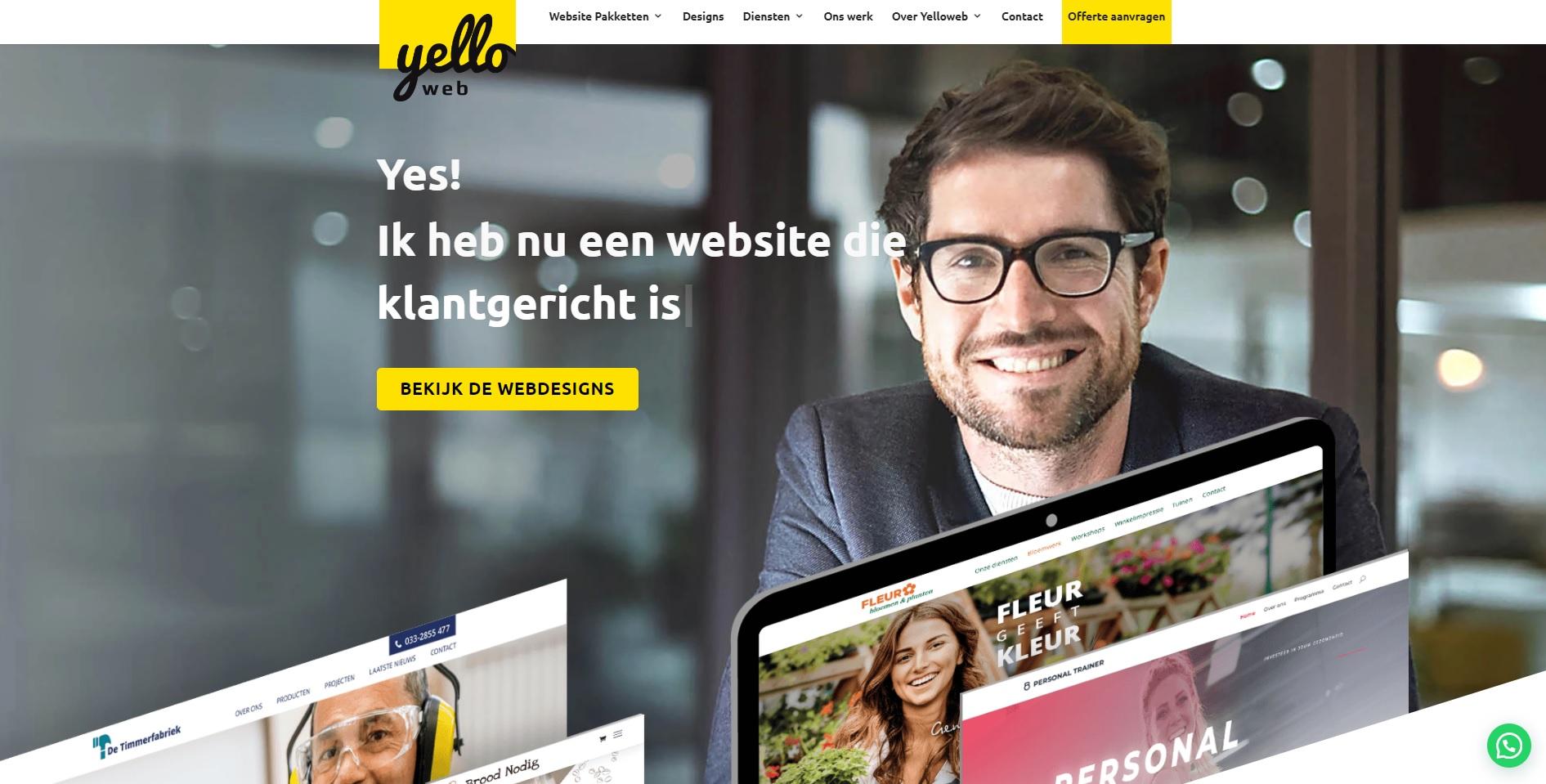 Yelloweb – webteksten